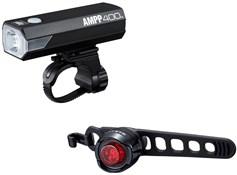 Cateye Ampp 400 & ORB Light Set