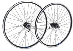 "Tru-Build 26"" Front MTB Wheel Mach1 MX Rim QR Double Wall Disc Hub"
