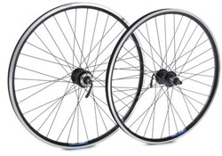"Tru-Build 26"" Front MTB Wheel Mach1 MX Rim QR Double Wall Disc Hub"