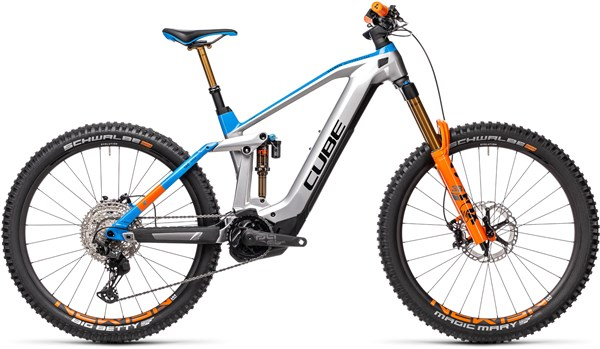 Cube Stereo Hybrid 160 HPC 27.5 625 Kiox 2021 - Electric Mountain Bike