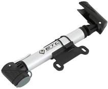 ETC AMP1100 Alloy Mini Pump Telescopic 2 Stage High Pressure & T-Handle Twin Head