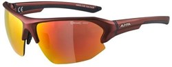 Alpina Lyron HR Mirror Cycling Glasses