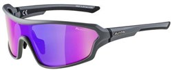 Alpina Lyron Shield Polarized Mirror Cycling Glasses
