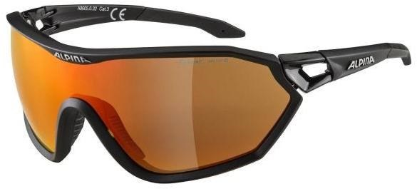 Alpina S-Way Ceramic Mirror+ Cycling Glasses