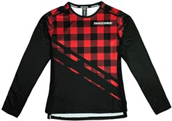 Race Face Diffuse Womens Long Sleeve Jersey