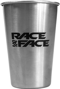Race Face Pint Glass Steel