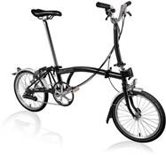 Brompton M6L - Black 2021 - Folding Bike