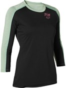 Product image for Fox Clothing Ranger DriRelease Womens 3/4 Sleeve Jersey