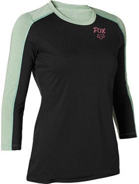 Fox Clothing Ranger DriRelease Womens 3/4 Sleeve Cycling Jersey