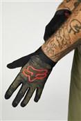 Fox Clothing Permanent Vacation - Flexair Ascent Long Finger Gloves
