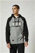 Product image for Fox Clothing Emblem Zip Raglan Fleece Hoodie