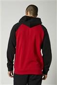 Fox Clothing Emblem Zip Raglan Fleece Hoodie