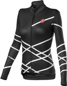 Castelli Diagonal Womens Long Sleeve Full Zip Jersey
