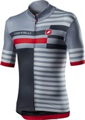 Castelli Mid Weight Pro Short Sleeve Full Zip Jersey