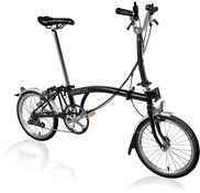 Brompton M6L - Gloss Black Lacquer 2021 - Folding Bike