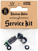 Product image for Peatys Chris King (MK2) Tubeless Valve Service Kit