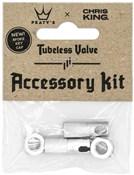Peatys Chris King (MK2) Tubeless Valves Accessory Kit