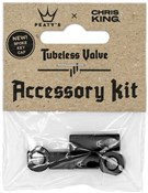 Product image for Peatys Chris King (MK2) Tubeless Valves Accessory Kit