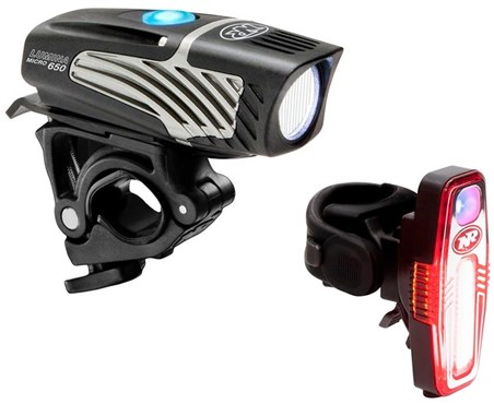 NiteRider Lumina Micro 650/Sabre 110 Combo Light Set