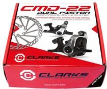 Clarks Front & Rear Dual Piston FM Brakes F160 R140