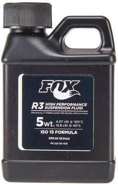 Fox Racing Shox Suspension Fluid R3 5WT ISO 15 250ml