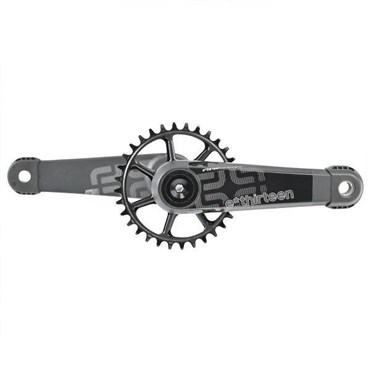 E-Thirteen LG1 Race Carbon Crank with Self Extractor - No BB, No Ring - Standard Decals