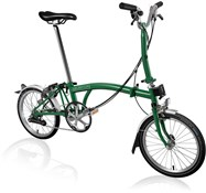Brompton M6L - Racing Green 2021 - Folding Bike