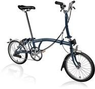 Brompton M6L - Tempest Blue 2021 - Folding Bike