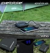 Veho Pebble Explorer 8400mAh Dual Port Power Bank for Mobile Devices