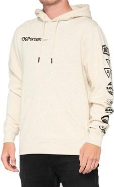 100% Super Future Hooded Pullover Sweatshirt