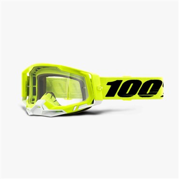 100% Racecraft 2 Clear Lens Goggles