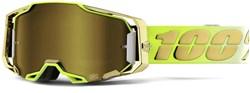 100% Armega Gold Lens Goggles