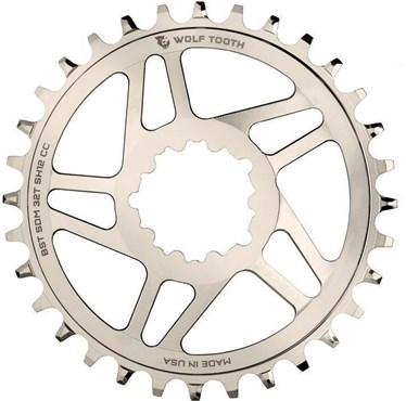 Wolf Tooth Direct Mount Chainring for eeWings / Sram Boost Nickel Shimano HG+