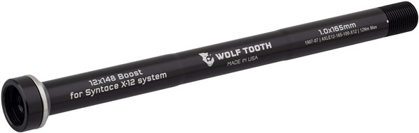 Wolf Tooth Rear Thru Axle 1.0 x 159mm for X12 12 x 142mm