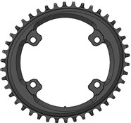 Product image for Wolf Tooth Elliptical 110 BCD 4 Bolt Chainring for Shimano GRX