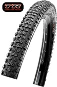 "Product image for Maxxis Aggressor 26"" 120 TPI Folding Dual Compound TR DD MTB tyre"