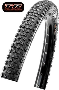 "Maxxis Aggressor 26"" 60 TPI Folding Dual Compound ExO TR MTB tyre"