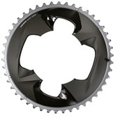 Product image for SRAM 107BCD 2X12 Force Chainring With Cover Plate
