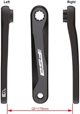 FSA Brose E-Bike Crank Arms