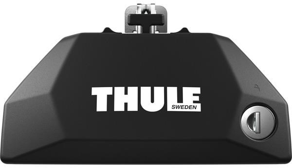 Thule 7106 Evo Flush Rail foot pack for cars with low profile roof rails