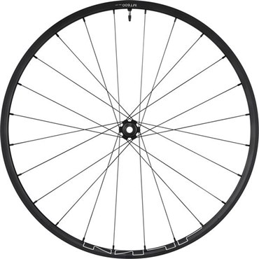 "Shimano WH-MT600 29"" tubeless compatible front wheel"