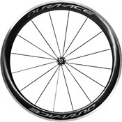 Product image for Shimano WH-R9100-C60-CL Dura-Ace Carbon clincher 50 mm front wheel