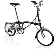 Brompton M6L Superlight - Black 2021 - Folding Bike