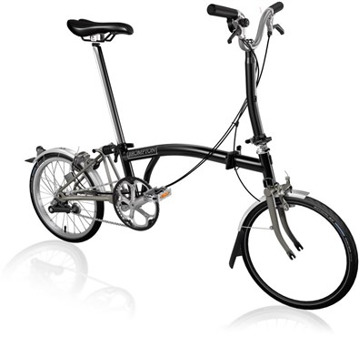 Brompton M3L Superlight - Black 2021 - Folding Bike