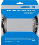 Product image for Shimano MTB gear cable set for rear only