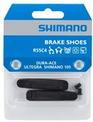 Product image for Shimano BR-9000 R55C4 cartridge-type brake inserts and fixing bolts