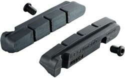 Shimano R55C4-1 brake shoes inserts and fixing bolts