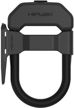 HipLok DX D Lock with Frame Clip - Gold Sold Secure