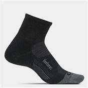 Feetures Merino 10 Cushion Quarter Socks (1 Pair)