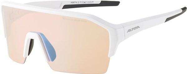 Alpina Ram Half Rim HVLM+ Cycling Glasses